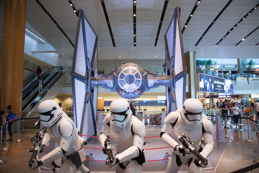 Road to Star Wars Episode 7: Star Wars at Changi